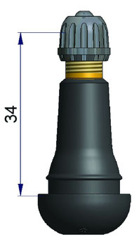 Gummiventil TR413 100Stk