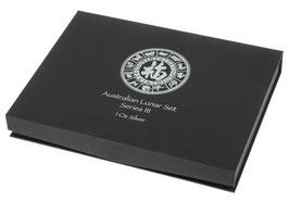 Lunar III Münzbox für 12 x 1 Oz Silbermünzen