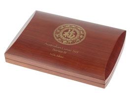 Lunar III Münzbox für 12 x 1 Oz Silbermünzen (Sonderedition)