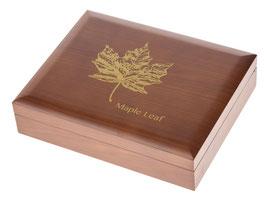 Maple Leaf Münzbox für Gold- und Silbermünzen (ohne Einlagen)