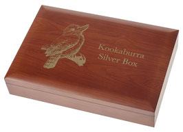 Kookaburra Münzbox für 1 Oz - 1 kg Silbermünzen