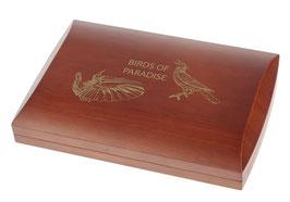 Birds of Paradise Münzbox für 1 Oz Silbermünzen