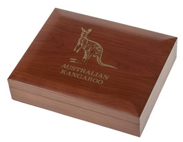 Känguru/Kangaroo Münzbox für Gold- und Silbermünzen (ohne Einlage)