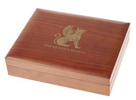 Queen's Beasts Münzbox für Gold- und Silbermünzen (ohne Einlage)