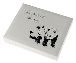 China Panda Münzbox für 1 Oz Silbermünzen