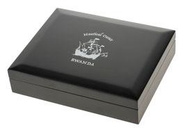 Rwanda/Ruanda Nautical Ounce Münzbox für 1 Oz PP bzw. BU Silbermünzen (ohne Einlagen)