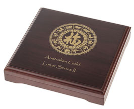 Lunar II Münzbox für 12 x 1/4 Oz Goldmünzen