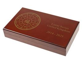 Lunar United Kingdom Münzbox für 12 x 1 Oz Silbermünzen