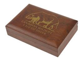 Canadian Wildlife Münzbox für 6 x 1.5 Oz Silbermünzen