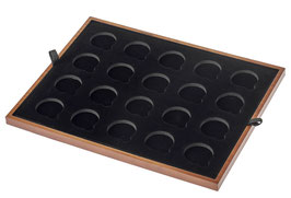Einlage für 34 mm x 20 gekapselte Goldmünzen