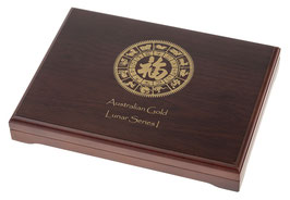 Lunar I Münzbox für 12 x 1/4 Oz Goldmünzen