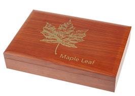 Maple Leaf Münzbox (groß) für 1 bzw. 10 Oz Silbermünzen (ohne Einlagen)