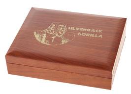 Silverback Gorilla Münzbox für 1 Oz Silbermünzen (ohne Einlage)