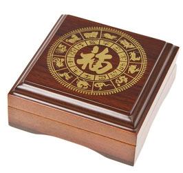 Lunar II ( 2 ) Geschenkbox für 1 x 1 Oz Goldmünzen
