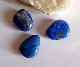 Lapis-lazuli percé