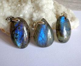 Labradorite, pendentifs petits