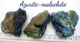 Azurite-malachite d'Afrique