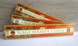 Nagchampa Copal, bâtonnets, 15 g.
