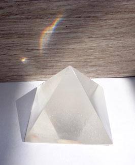 Quartz girasol, pyramide