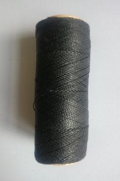 Fil polyester ciré 0.07 mm noir