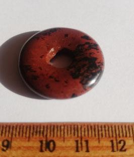 Obsidienne mahogany, donut