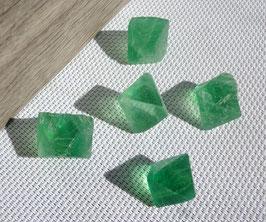 Fluorine verte, octaèdres