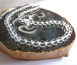 Cristal de roche, perles rondes