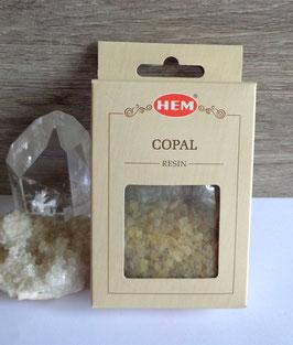 Copal (Hem), encens en grains