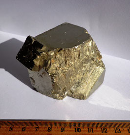 Pyrite, gros cube