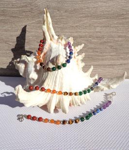 Pierres chakras (Inde), bracelets chaînes