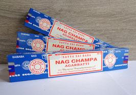 Nag Champa (Satya), encens en bâtonnets
