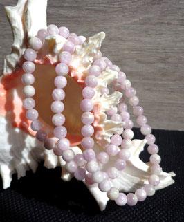 Kunzite, bracelet élastique
