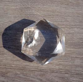 Cristal de roche, hexagramme