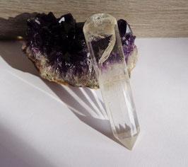 Cristal de roche, pointe de massage