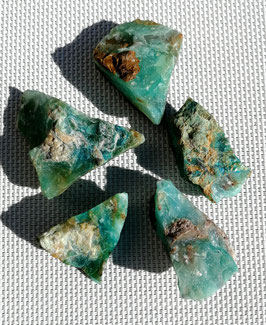 Opale bleue brute