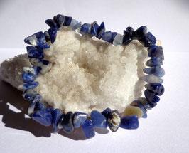 Sodalite, bracelet élastique