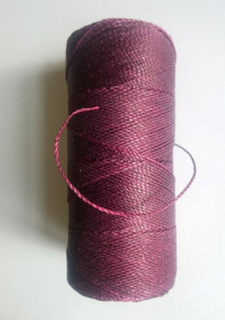 Fil polyester ciré 0.07 mm violet