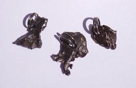 Météorite (Sikhote-Alin, Russie), pendentifs