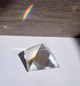 Cristal de roche,  pyramide