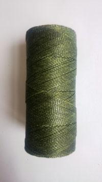Fil polyester ciré 0.07 mm vert