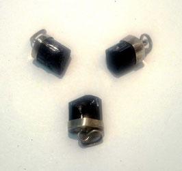 Tourmaline noire (Inde), pendentifs