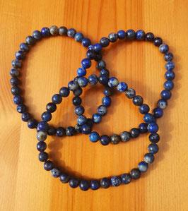 Lapis-lazuli, bracelet perles 6 mm
