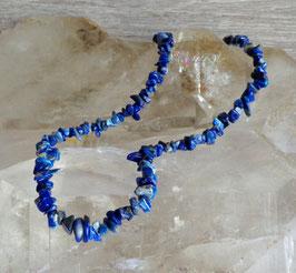 Lapis-lazuli, collier baroque