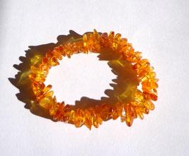 Ambre clair, bracelet élastique