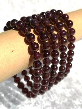 Grenat extra, bracelet élastique