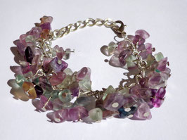 Fluorine, bracelet chaîne
