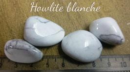 Howlite blanche