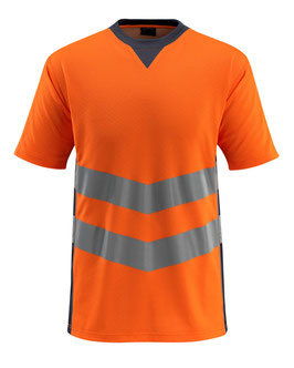 Sandwell T-Shirt hi-vis orange/schwarzblau Art Nr. 50127-933-14010