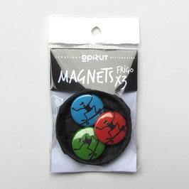 Magnets frigo x3