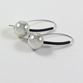 Boucles d'oreilles métallisé